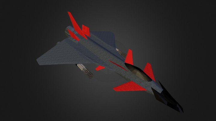 Space Typhoon 3D Model