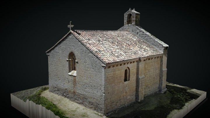 Ermita de San Miguel. Población de Campos 3D Model