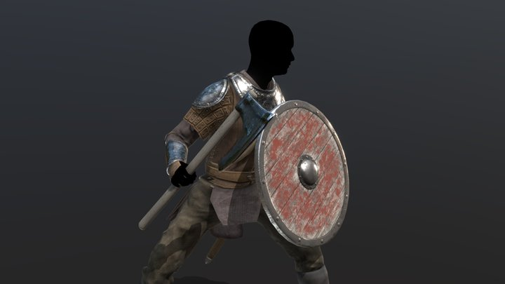 Bandit Armor and Clothes - Game Model 3D Model