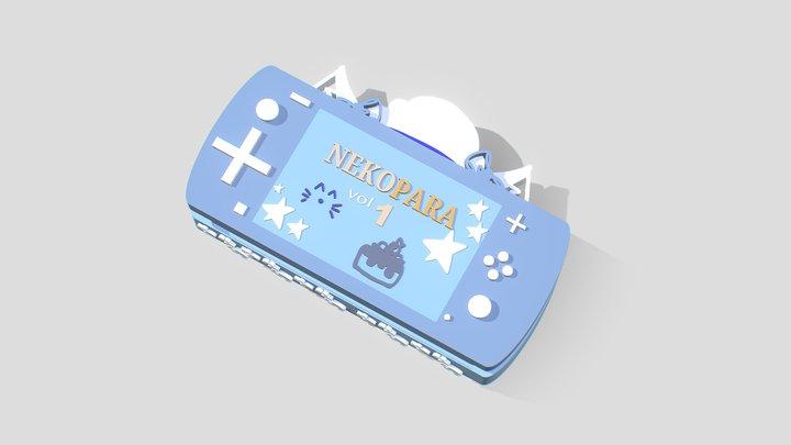 Nekopara Nintendo Switch Lite 3D Model