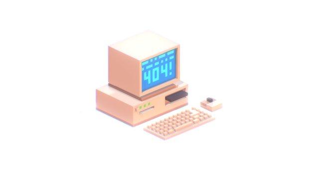 Error 404 3D Model