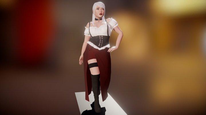 Seamstress 3D Model