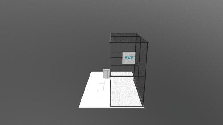 10 x 20 x 20 Drone Cage 3D Model