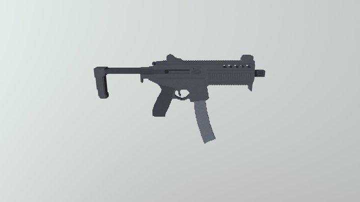 SIG SAUER MPX 3D Model