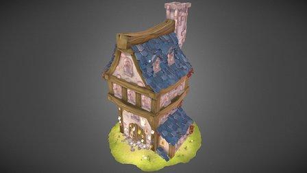 DOFUS House - Ankama Design 3D Model