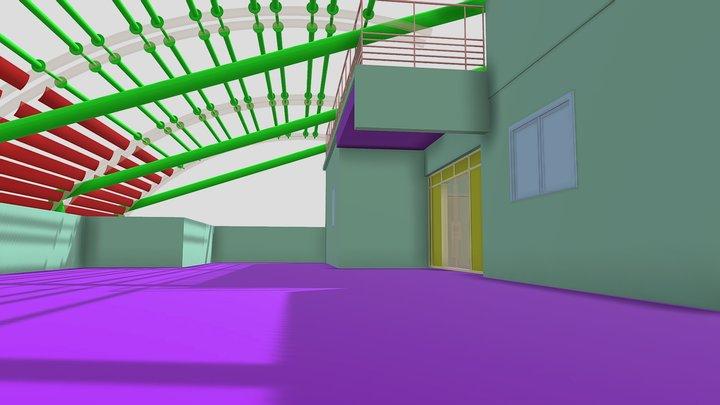 גן החלומות 3D Model