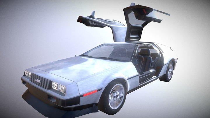 Unlock classic car 01 3D Model