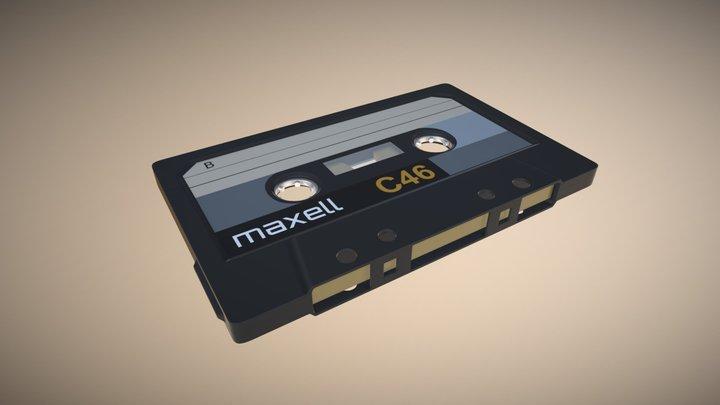 Cassette Tape - Modeling Exercise 3D Model