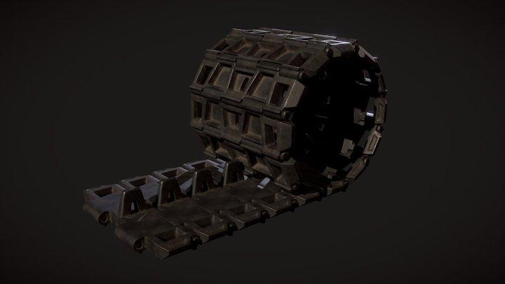 Track Segments 3D Model