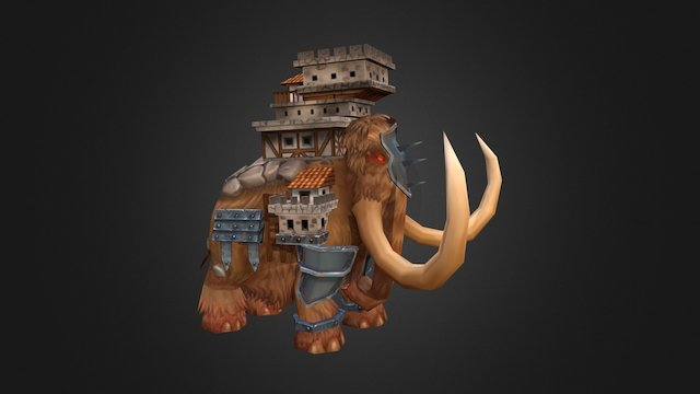 Mammoth Boss from Siege Of Heroes 3D Model