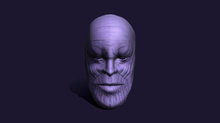 Thanos Mask . 3D Model