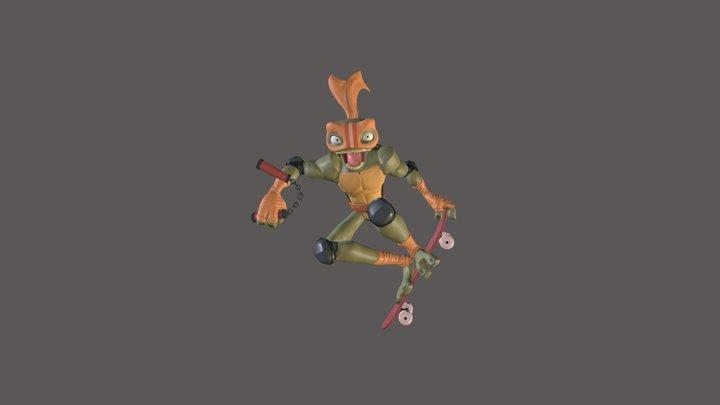 Michaelangelo 3D Model 3D Model