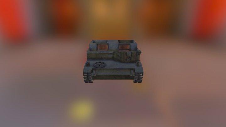 bren gun carrier 3D Model