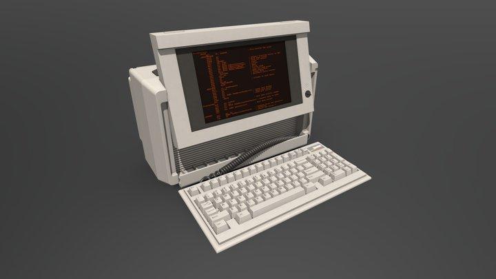 BM86 Portable PC 3D Model