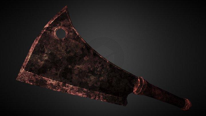 [W003] Rusty Cleaver 3D Model