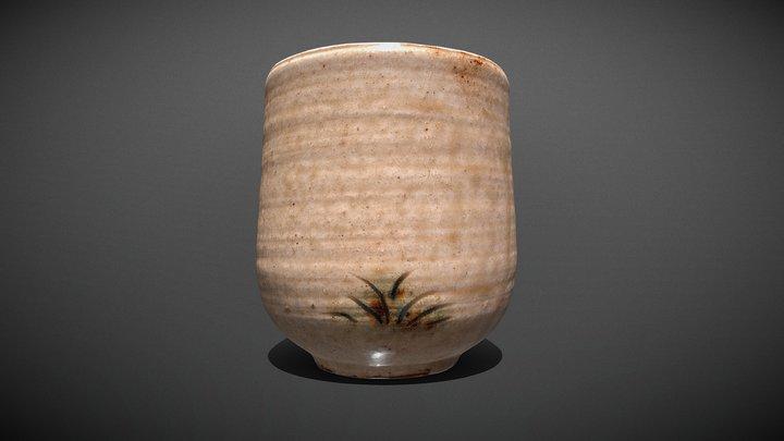 黄瀬戸の湯呑み (Kiseto Style Tea Cup) 3D Model