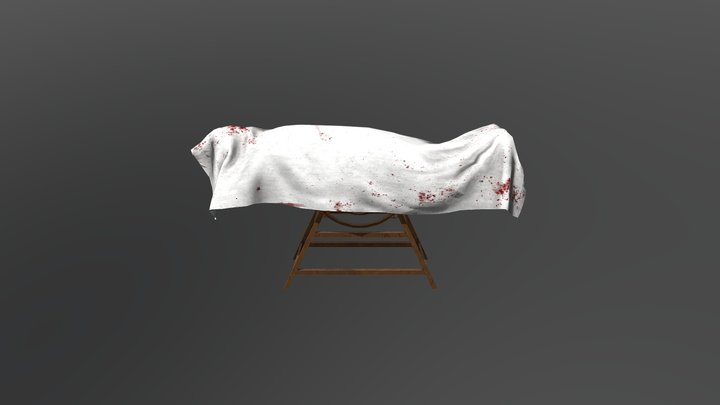 Operational Bed 3D Model