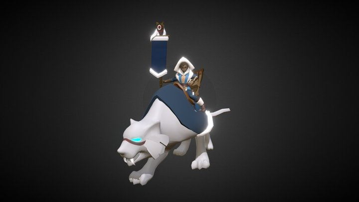 Uki, The Commander 3D Model