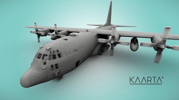 USAF C-130 Hercules 3D Model