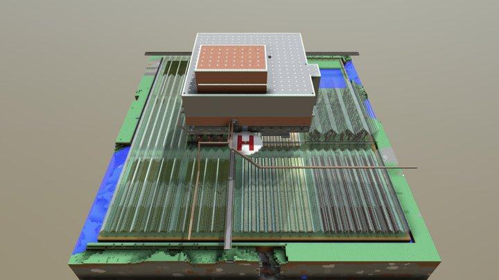 Seaworld - Previous Base (#2) 3D Model