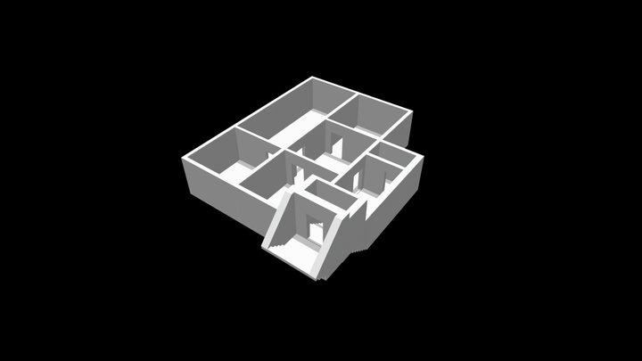 Schalthaus des MfS - Niederlehme 3D Model