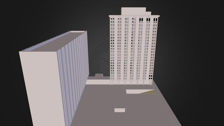 Towers Apt 3D Model