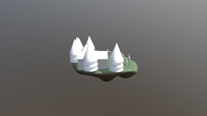 New_Horses_Island_stable 3D Model