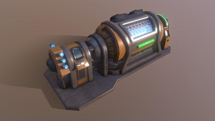 Generator Lowpoly 3D Model
