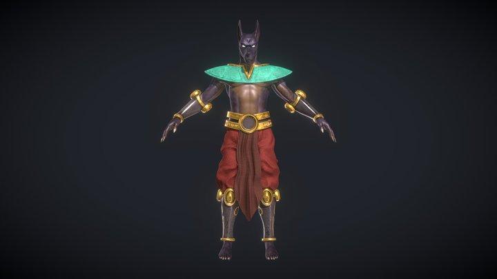 Anubis_Base 3D Model