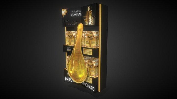 Miniarete Elvive B 3D Model