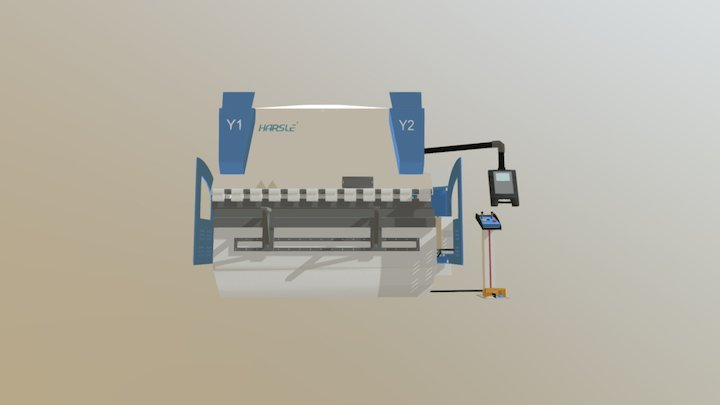 HARSLE Press Brake 3D Model