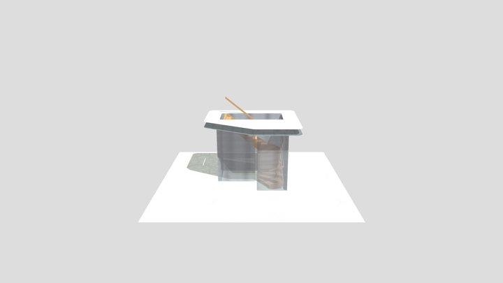 19189-KNOLS-MOSKEE-KWART 3D Model