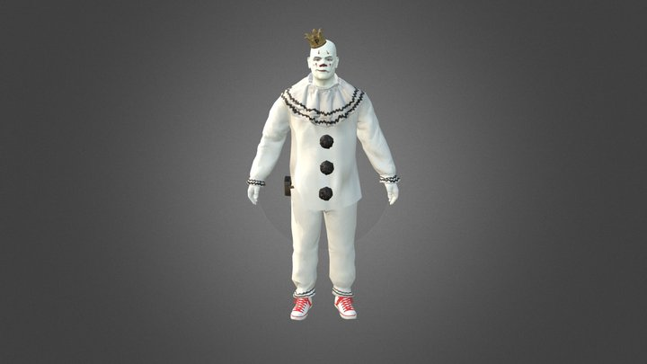 Puddles Pity Party 3D Model