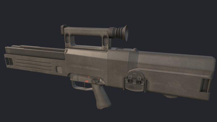 Hk G11 K2 3D Model