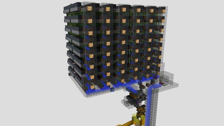 Seaworld - Sugarcane farm 3D Model
