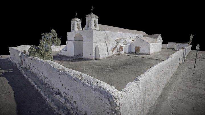 Iglesia de Chiu Chiu 3D Model