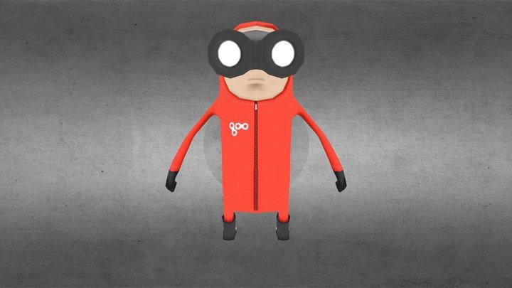 Toy character (玩偶) 3D Model