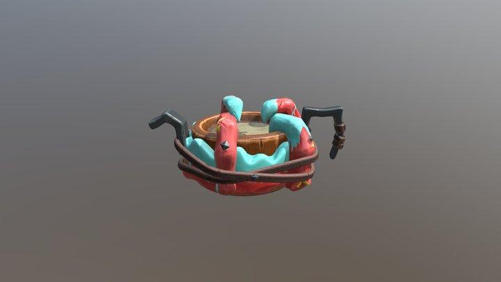 Ocean Crawler Drum 3D Model