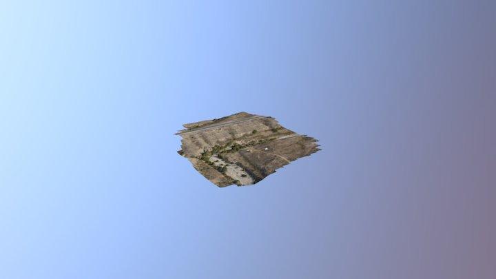 Barranco El Llorón. 3D Model