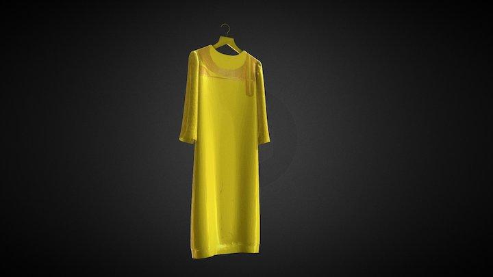 Dress uae 3d model 3D Model