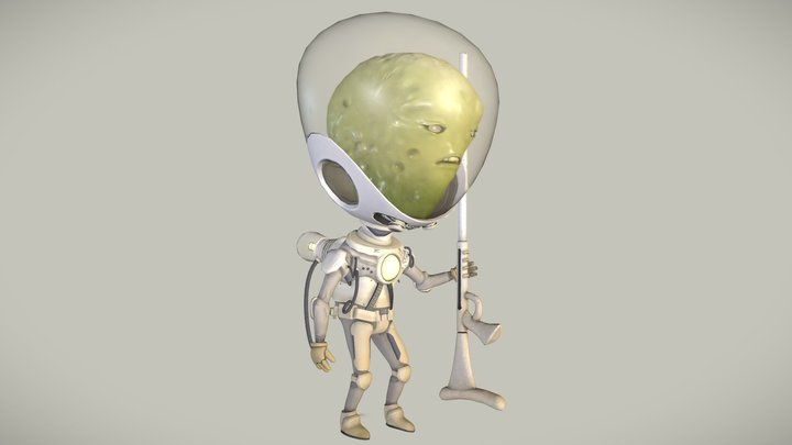 Eric the Extraterrestrial 3D Model