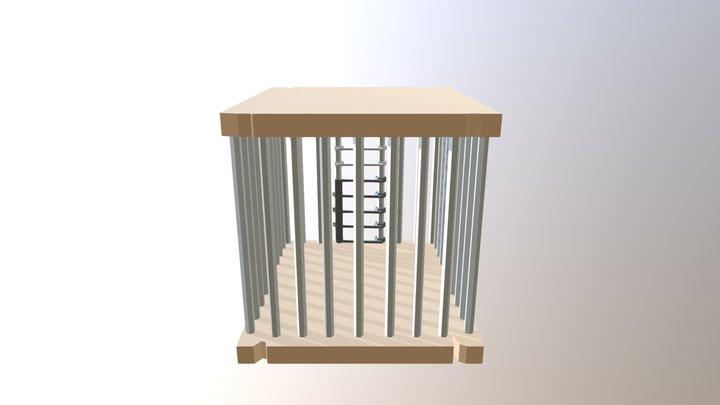 Cela Medieval 3D Model