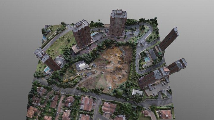 Demo progreso de obra 15/11/2017 3D Model