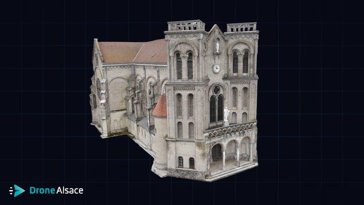 Inspection église de Marnaval - Haute-Marne 3D Model