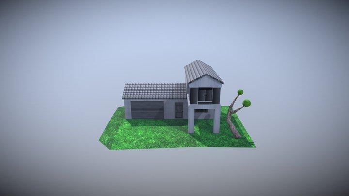 House Lux 3D Model