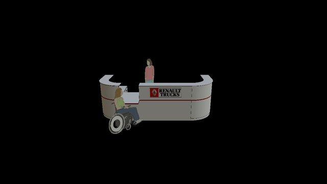 accueil 3D Model
