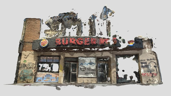 Burgerking Stgo Centro Dec7 3D Model