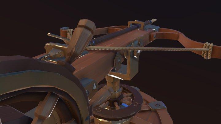 Pirate Ballista 3D Model