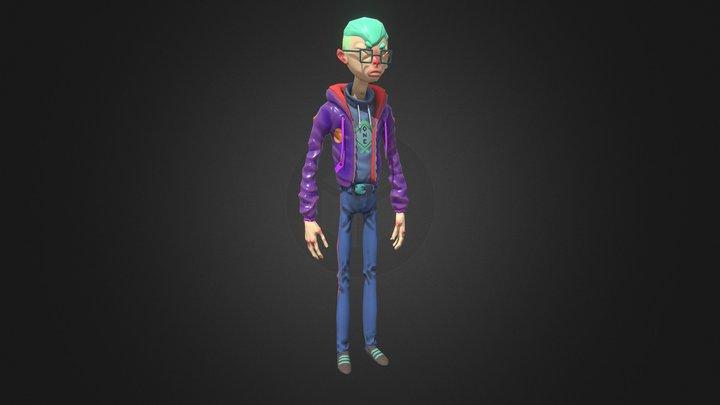 Le Méchant 3D Model