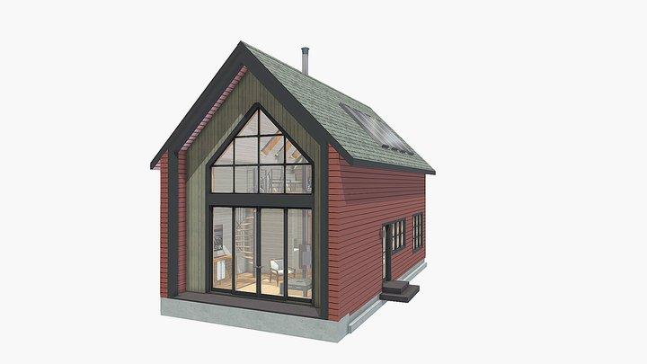 The Lockwood - Full house model 3D Model